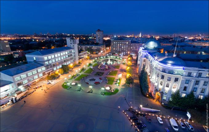 Харьков. Вид с высоты (1)