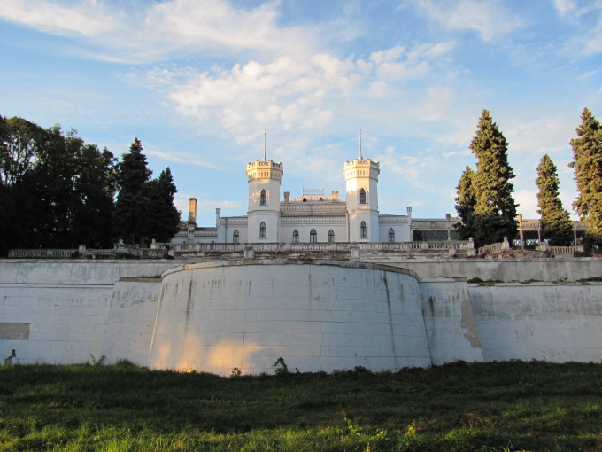Шаровка замок