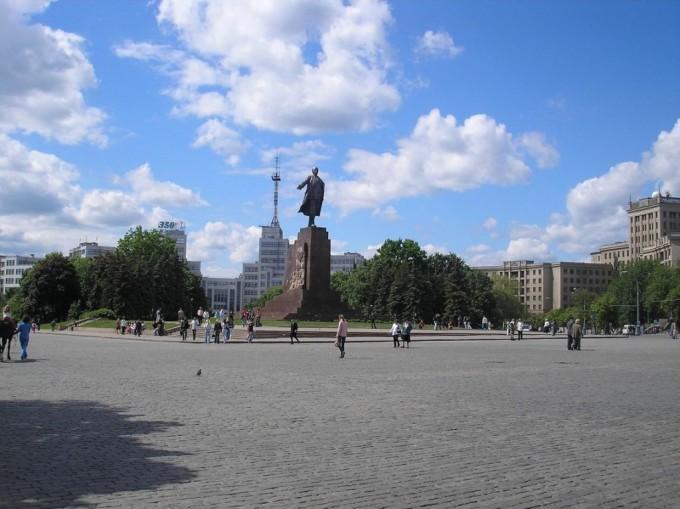 Площадь Свободы Харьков