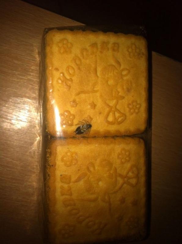 Печенье с тараканами выпустили в Харькове