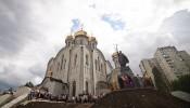 Памятник князю Владимиру в Харькове (1)