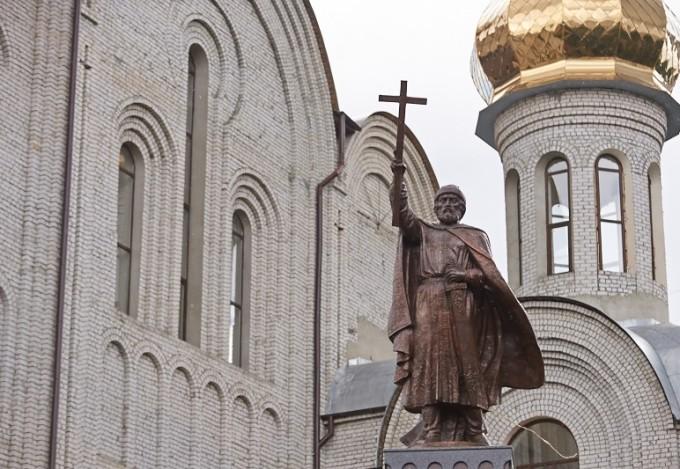 Памятник князю Владимиру в Харькове (3)