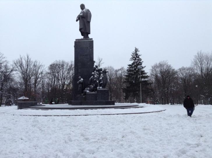 Памятник Шевченко Харьков