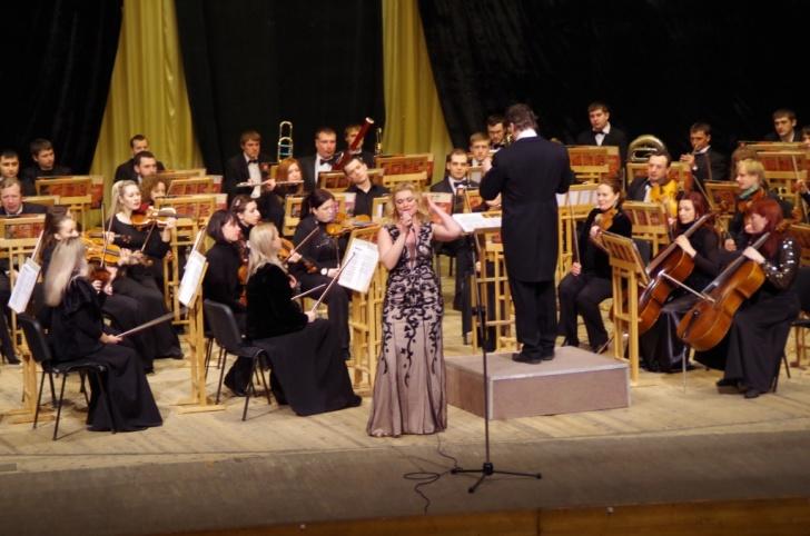 Елена Грачева на концерте Виртуозы Слобожанщины
