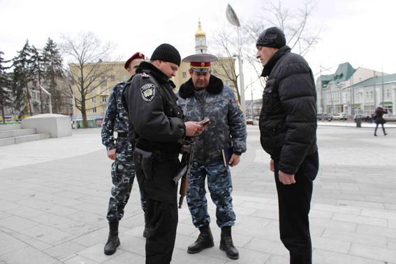 милиция и казаки1