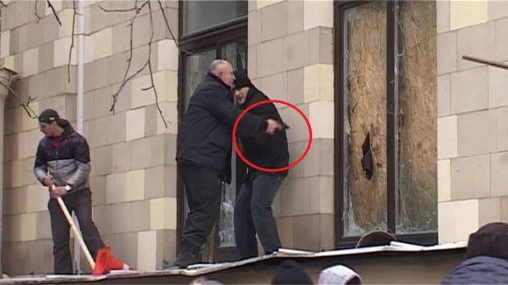 пророссийские боевики в Харькове