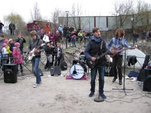 Первый эко-рок-фестиваль в Харькове открыли рокеры из 116 школы