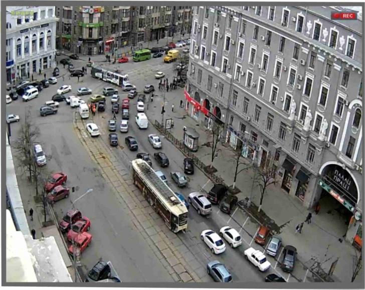 Трамвай сошел с рельс в Харькове