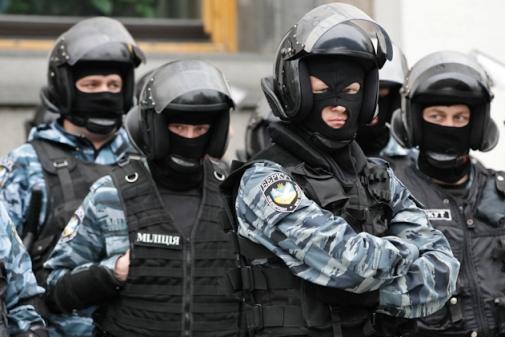 милиция с народом