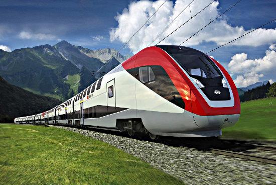 Транспортные перевозки на поезде