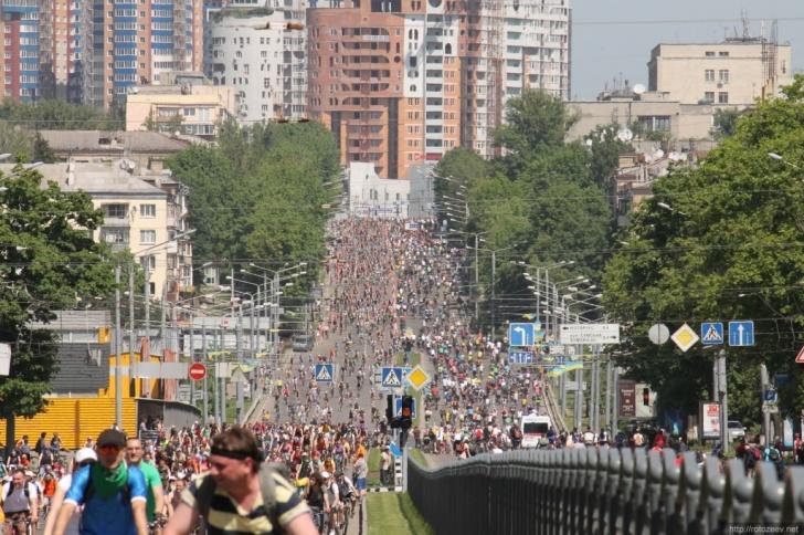 Велодень 2014 в Харькове