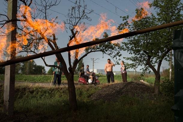 пожар газопровод