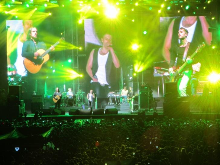 В Харькове на стадионе «Металлист» прошел концерт «Океан Эльзы»
