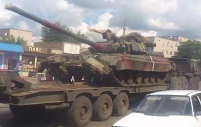 танки в Изюме