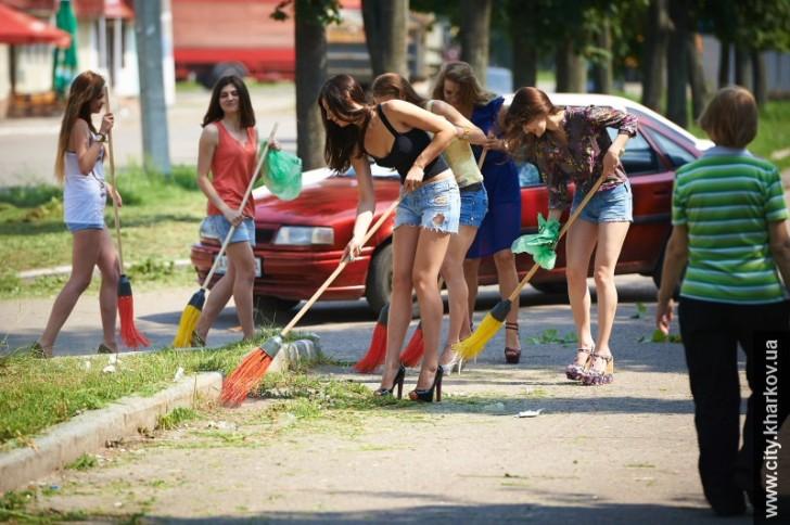 Субботник русских проституток периодически проститутка