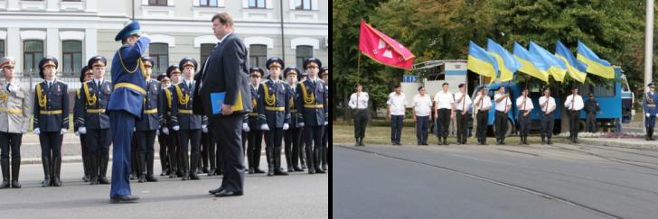 Церемония поднятия Государственного Флага-000