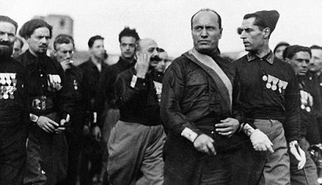 Чернорубашечники Муссолини