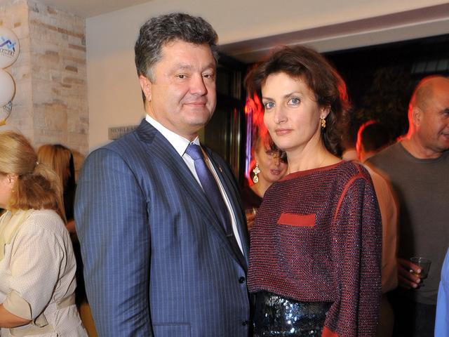 жена порошенко