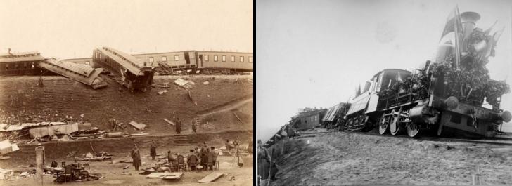 Крушение царского поезда 17 октября 1888 года