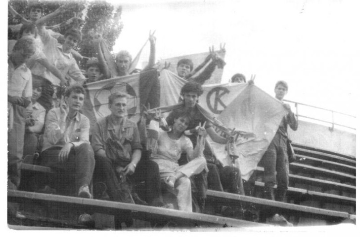 Харьковчане в Донецке (1987 г.)