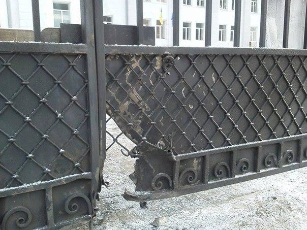 Очередная диверсия в Харькове