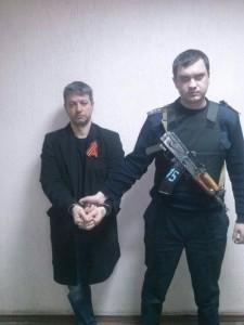Новиков задержан