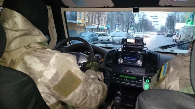 Нацгвардия в Харькове-2