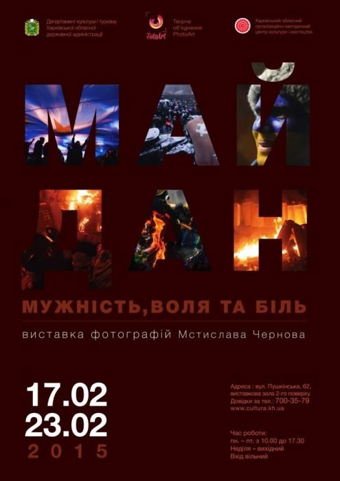 """Мстислав Чернов """"Майдан – мужество, воля и боль"""""""