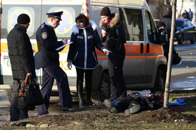 Взрыв в Харькове 22.02.2015