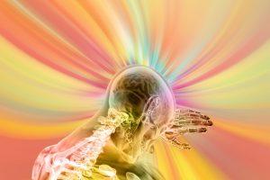 мозг, человек, энергетическое поле