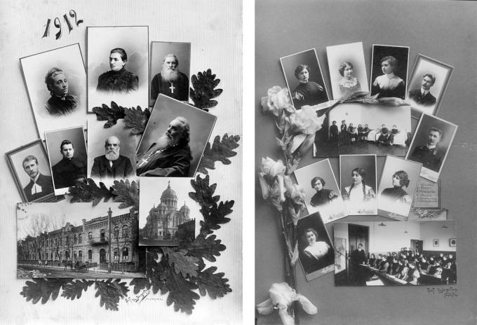 Фотограф де Ламитье. Выпускной альбом 1912 года