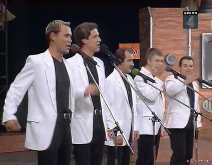 Легендарный состав команды КВН Харьковского авиационного института, 2000 год