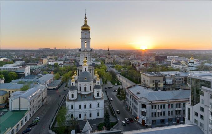 Успенский, Благовещенский и Покровский монастыри в Харькове