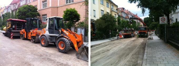 Немецкие рабочие ремонтируют дорожное полотно. Фото: http://www.dezinfo.net