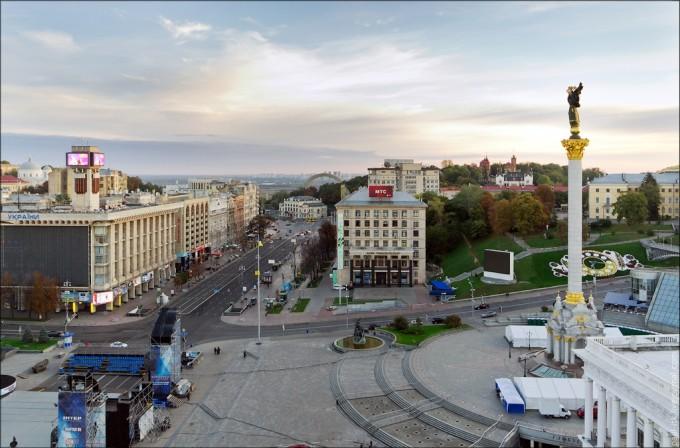 Киев, Майдан Независимости