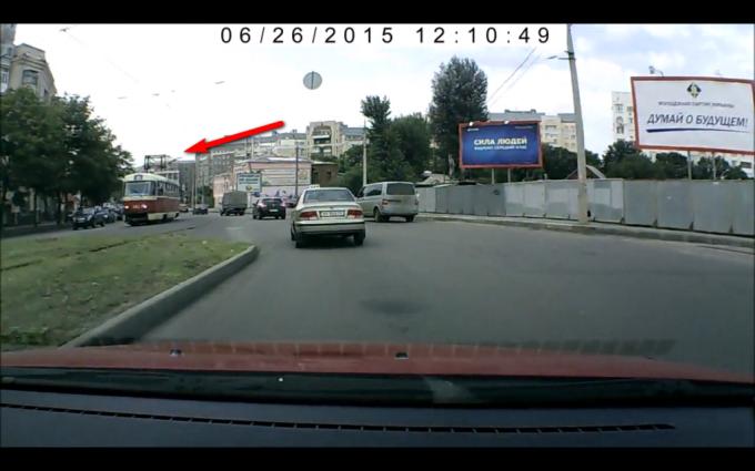 Харьковский Трамвай скинул рога