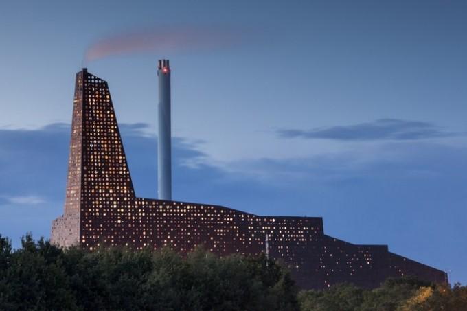 Мусоросжигательный завод в Роскилле (Дания) - 01