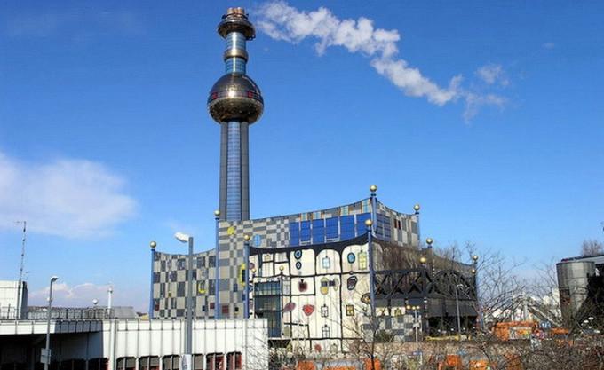 Тот же сказочный завод в Вене.