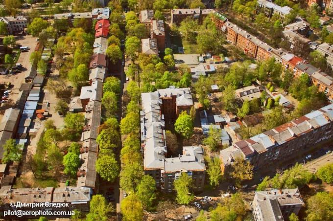 """Так Дом """"Слово"""" выглядит сверху. Фото: Дмитрий Следюк."""