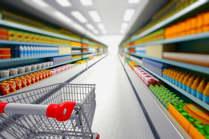Супермаркет потребительская корзина