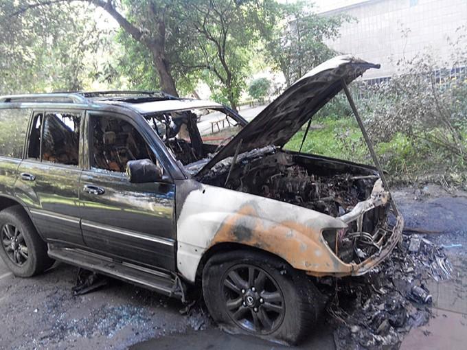 Поджог в Харькове