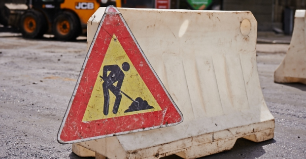 ограничение движение транспорта ремонт