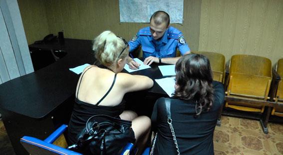 задержанных проституток фото