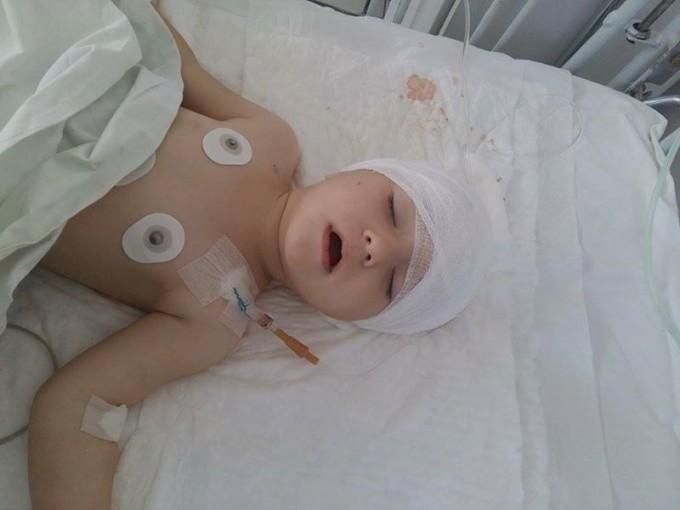 Родителям ребенка необходима помощь на приобретение лекарств. Фото: Алла Фещенко.