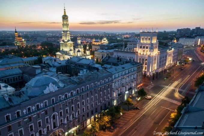 Харьков. Вид с высоты