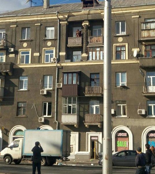 """Виновник """"торжества"""" на пятом этаже. Фото: Олег Винокуров."""