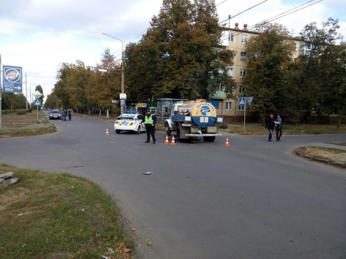 ДТП на перекрестке улиц Ощепкова и Маршала Рыбалко. Фото из соцсети.