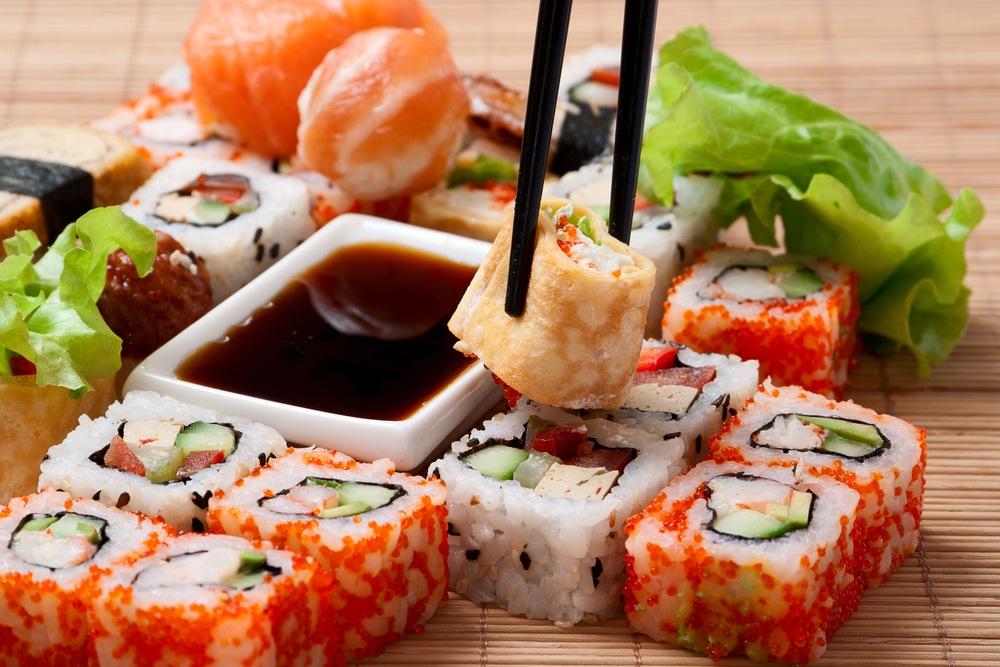 Сайт доставки суши: преимущества