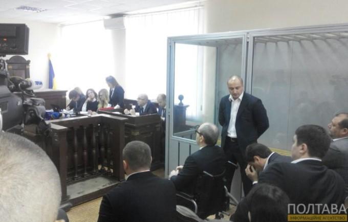 Заседание по делу Кернеса. Фото: информационное агентство «Полтава».