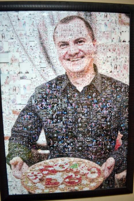 Портрет Александра Колба с печеньками
